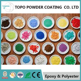 Cina RAL 1003 Pearl Powder Coating Good Chemical / Corrosion Resistance pemasok