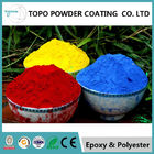 Cina Hammer Texture Metallic Red Powder Coat, Reliable Powder Coated Paint Untuk Logam pabrik