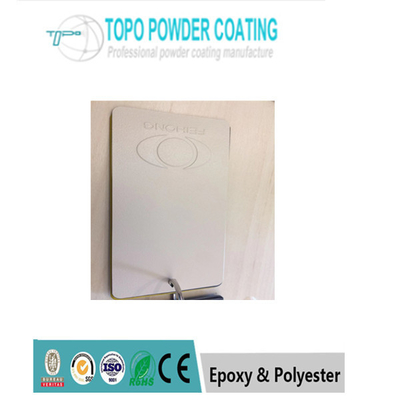 White Outdoor Epoxy Resin Powder Coating RAL 1213 Cahaya Rendah Untuk Permukaan Logam