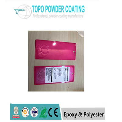 Cina Thermosetting Polyester Komersial Powder Coating PANTONG806C Warna Merah pabrik