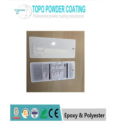 Cina Putih Elektrostatik epoksi poliester, Powder Coating / Powder Coating RAL 9016 pabrik