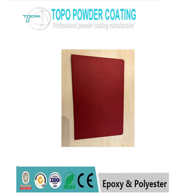 Rendah warna merah mengkilap Elektrostatik epoksi poliester, Powder Coating / Powder Coating RAL3011