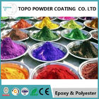 High Hardness Hybrid Powder Coating, RAL1016 Sulphur Yellow Carbon Steel Pipe Coating
